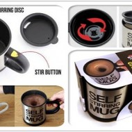 Cana fermecata Self Stirring Mug