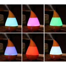 Difuzor ultrasonic aromaterapie, 7 culori, capacitate 235 ml
