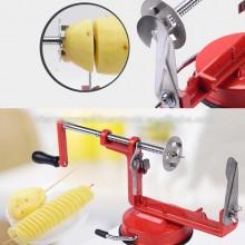 Dispozitiv pentru taiat cartofi in forma de spirala