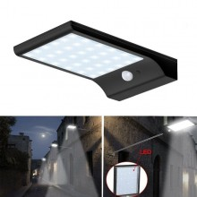 Lampa solara de exterior 20W cu senzor de lumina/miscare