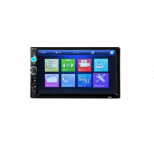 "Mp5 player auto, 2 DIN, Touch screen 7"", Bluetooth, USB, format video 1080P, FM tuner"