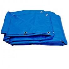 Prelata albastra impermeabila 4x6m- 130g/mp