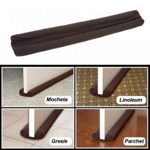 Set 2x Protectie anti-curent pentru usi si ferestre, culoare Maro