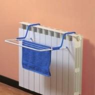 Uscator de rufe, pentru calorifer si balcon, 51x35x16 cm