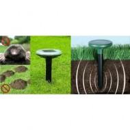 Dispozitiv pentru alungat cârtite cu alimentare solara