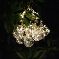 Ghirlanda-instalatie de interior-exterior cu 10 becuri LED, 2m