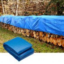 Prelata albastra impermeabila 4x5m- 130g/mp