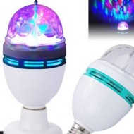 Set 2 becuri disco LED - Lampa rotativa - Cristal ball