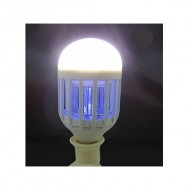 Bec LED 2 in 1 cu lampa UV anti insecte