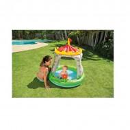 Castel parasolar, bazin cu apa pentru copii