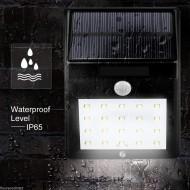 Lampa cu incarcare solara si senzor