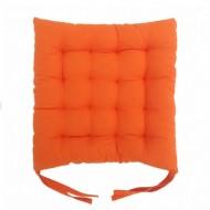 Perna decorativa pentru scaun, culoare portocaliu