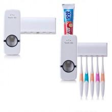 Dozator pasta de dinti + suport de periute