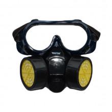 Masca si ochelari, pentru protectie pulverizare atomizor chimicale, vapori sau praf