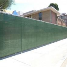 Plasa verde pentru gard 1.7 x 10 M, grad de umbrire 80%.
