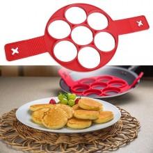 Formă pentru mini clatite americane, oua ochiuri, omlete, crochete de cartofi etc