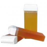 Kit Complet Epilare: Incalzitor + 7 rezerve ceara + 100 benzi epilat