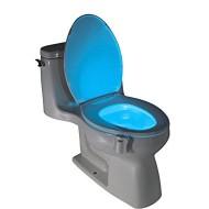 Lampa Led pentru vasul de toaleta cu senzor si 8 culori