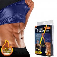 Maieu slabire pentru barbati cu efect sauna Sweat Shaper
