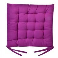 Perna decorativa pentru scaun, culaore mov