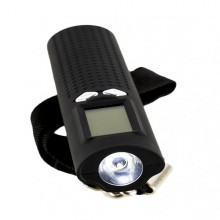 Baterie externa Serioux 3 in 1, ultraportabila, lanterna, luminozitate lanterna 60 lumeni, cantar electronic pentru bagaje