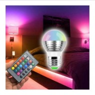 Bec led Magic Lighting cu 16 culori si telecomanda