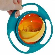 Bol rotativ 360°cu capac, anti-rasturnare