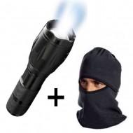 Lanterna profesionala LED Tac Light + Cagula cu protectie