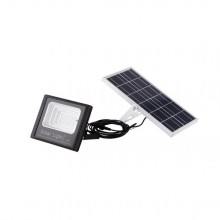 Proiector 50 w cu led SMD, panou solar si telecomanda
