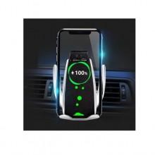 Suport auto pentru telefon cu incarcare wirless