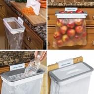 Suport cu capac pentru sacii de gunoi