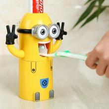 Suport pentru periuta de dinti cu dozator de pasta