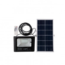 Proiector 120 w cu led SMD,panou solar si telecomanda