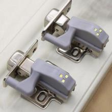 Set 2 x lampa cu led pentru balamale mobila