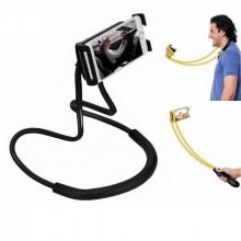 Suport flexibil pentru telefon, de pus pe gât