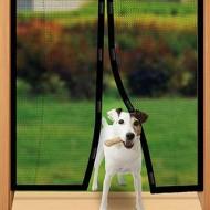Perdea cu magneți pentru ușa, Magic Mesh, 200x100 cm