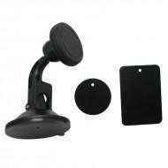Suport magnetic auto universal pentru telefon cu prindere pe parbriz