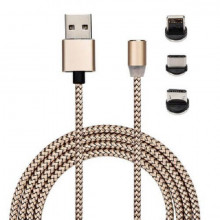 X- Cable cablu de incarcare magnetic cu led indicator