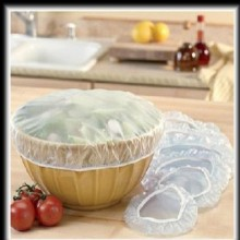 Set 2 capace textile pentru bol