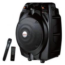 Boxa portabila 30W, AKAI cu Bluetooth,USB, slot card, telecomanda si microfon wirless