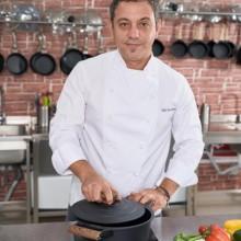 Cratita cu capac, 24 cm, 4.5L (Negru) Taste of Home by Chef Sorin Bontea
