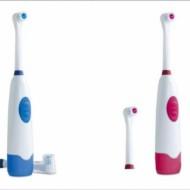 Periuta de dinti electrica cu 2 capete rotative si capac de protectie