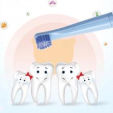 Periuta electrica de dinti pentru copii, cu peri soft