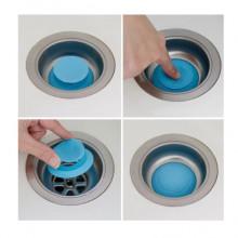 Set 2 dopuri din silicon pentru chiuvetă