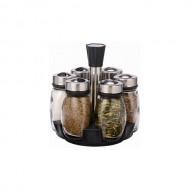 Set condimente 7 buc cu suport rotativ GRUMBERG