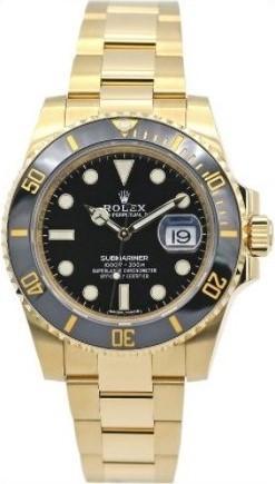 Ceas Rolex Submariner gold BLack