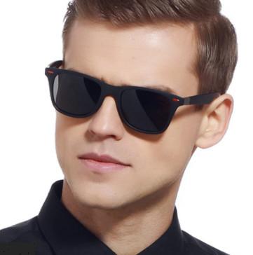 Ochelari de soare clasici polarizați ZUEE, cu cadru pătrat, unisex UV400