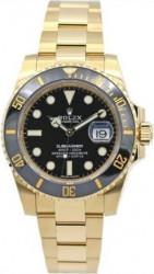 Ceas Rolex replica, Submariner gold BLack