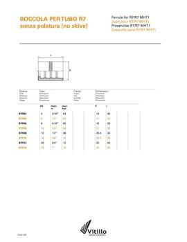 Caura za termoplasticno crevo dn5 (CAURA TP5- B7R03)
