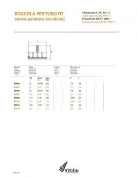 Caura za termoplasticno crevo dn12 (CAURA TP12- B7R08)